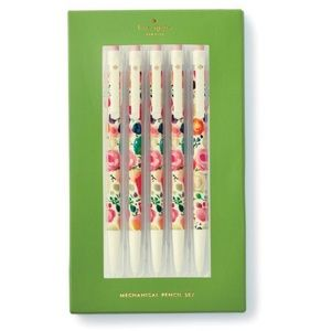 🆕 Kate Spade ♠️ Floral Mechanical Pencil Set 5